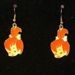 Flintstone Vintage Pebbles Earrings